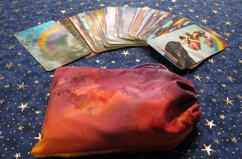 Tarot Cards & Bag