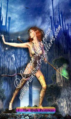 © 2015 Carmen Waterman - 2 The High Priestess