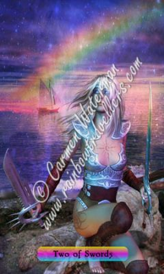 © 2015 Carmen Waterman - Two of Swords