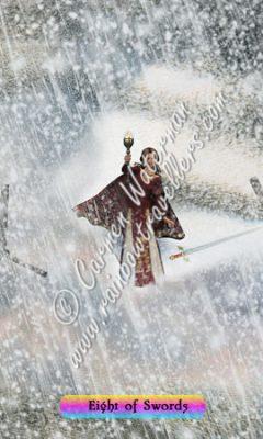 © 2015 Carmen Waterman - Eight of Swords